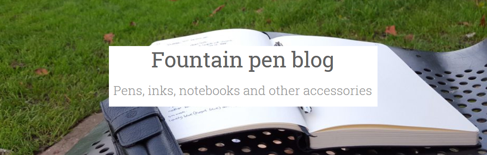 Fountain Pen Blog