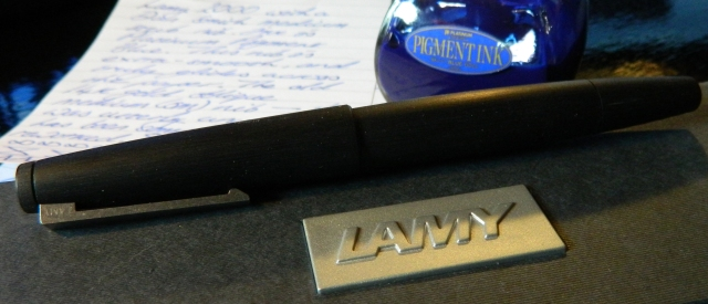 Return of the Lackluster Lamy – Writing