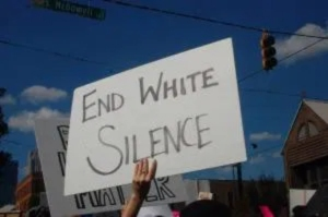 end white silence - It's Not About Politics, And Yet It Is, And Must Be.